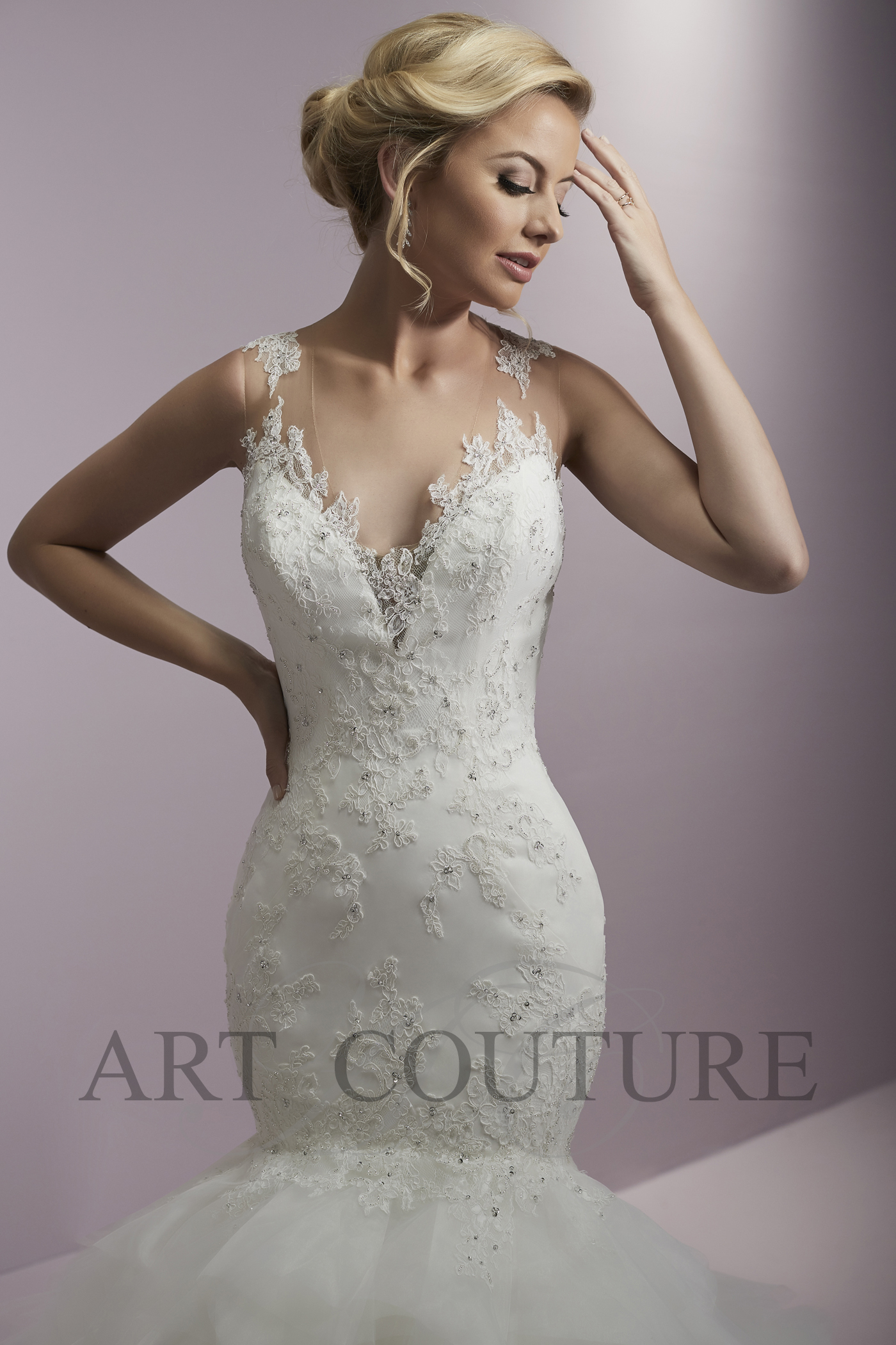 Art Couture Wedding Dress
